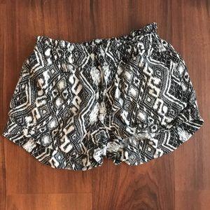 American Eagle Geometric Shorts
